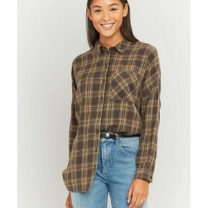 Urban Outfitters Tops - BDG Flannel Slouchy Flannel Shirt